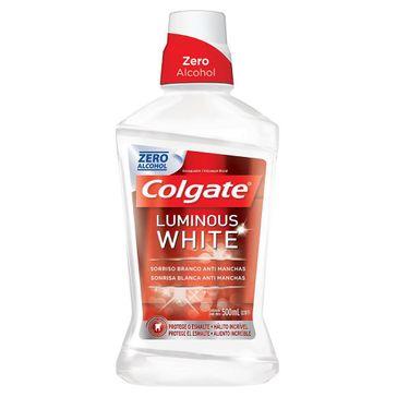 Enxaguante Bucal Colgate Luminous White 500ml