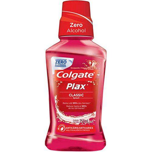 Enxaguante Bucal Colgate Plax Classic - 250ml
