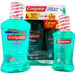 Enxaguante Bucal Colgate Plax Fresh Mint Leve 500 Pague 350ML e com Mais R$1,99 Gratis Plax