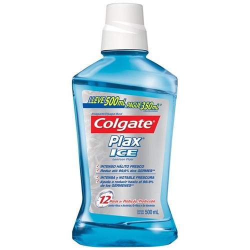 Enxaguante Bucal Colgate Plax Ice Leve 500ML-Pague 350ML