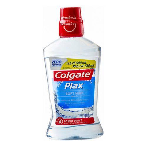 Enxaguante Bucal Colgate Plax Soft Mint Sem Álcool 500ml