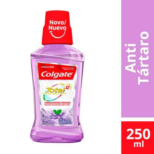 Enxaguante Bucal Colgate Total 12 Anti Tartaro 250ml