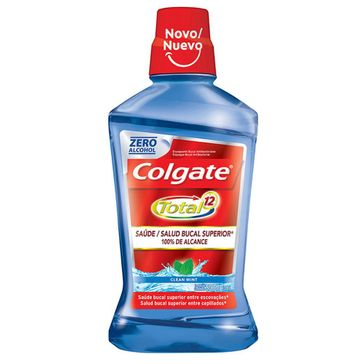 Enxaguante Bucal Colgate Total 12 Clean Mint 500ml