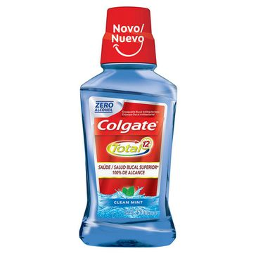 Enxaguante Bucal Colgate Total 12 Clean Mint 250ml