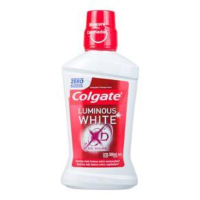 Enxaguante Bucal Luminous White XD Colgate 500mL