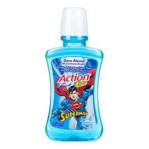 Enxaguante Bucal Superman Action Kids 250mL