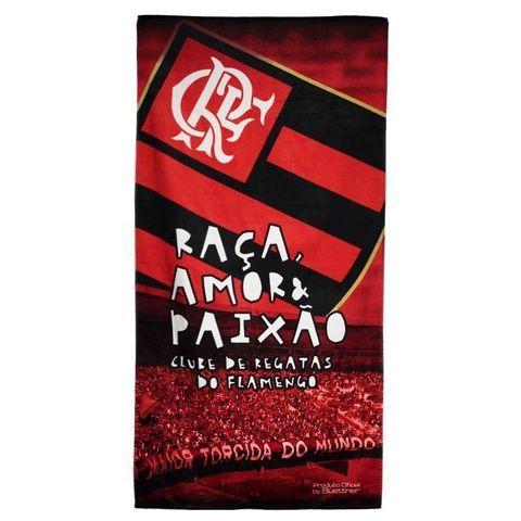 Enxovais Banho Adulto Toalha Banho Normal Buettner -Veludo Clube Flamengo