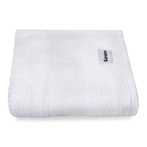 Enxovais Banho Adulto Toalha Banho Normal Karsten -Empire Branco