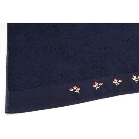 Toalha de Rosto Buettner -Selecta Celine Navy Blue