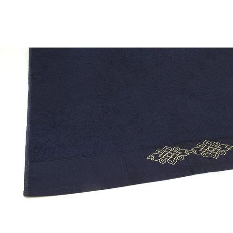 Toalha de Rosto Buettner -Selecta Cirena Navy Blue