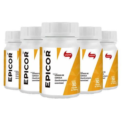 Epicor (Levedo de Cerveja) - 5x 30 Cápsulas - Vitafor