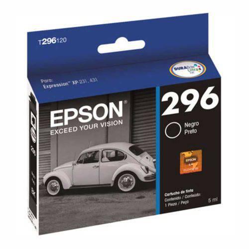 Epson 296 para Expression Preto T296120br Epson