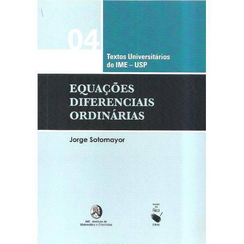 Equacoes Diferenciais Ordinarias
