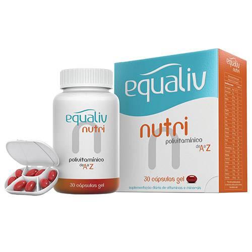 Equaliv Nutri 30 Cápsulas Gel - Equaliv