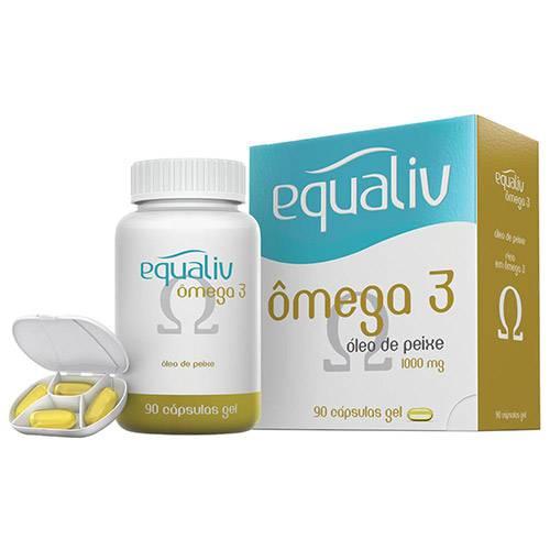 Equaliv Ômega 3 - 90 Cápsulas - Equaliv