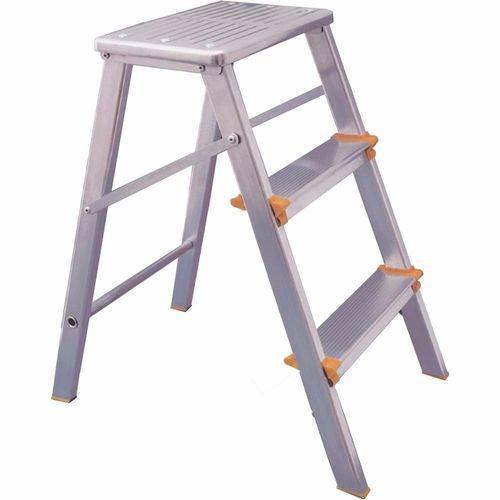 Escada de Alumínio Banqueta 3 Degraus
