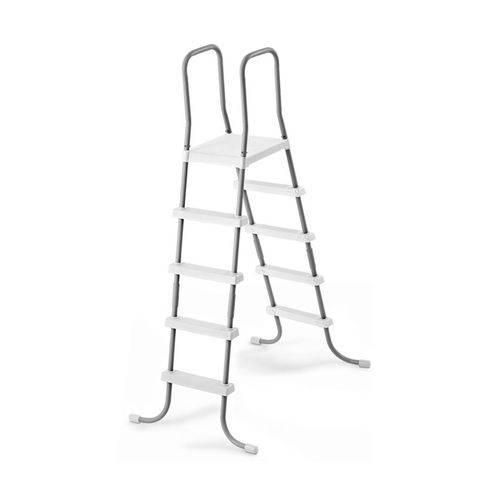 Escada para Piscina Intex Até 132 Cm de Altura Branca #28067