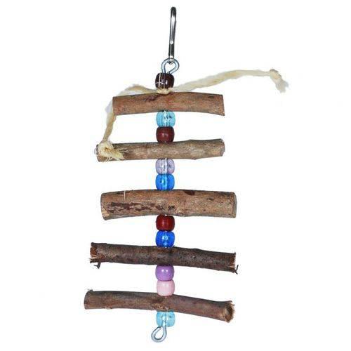 Escada Toy For Bird para Calopsita Colorida