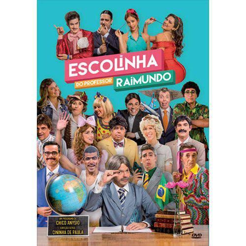 Escolinha do Prof. Raimundo 2015 - Dvd