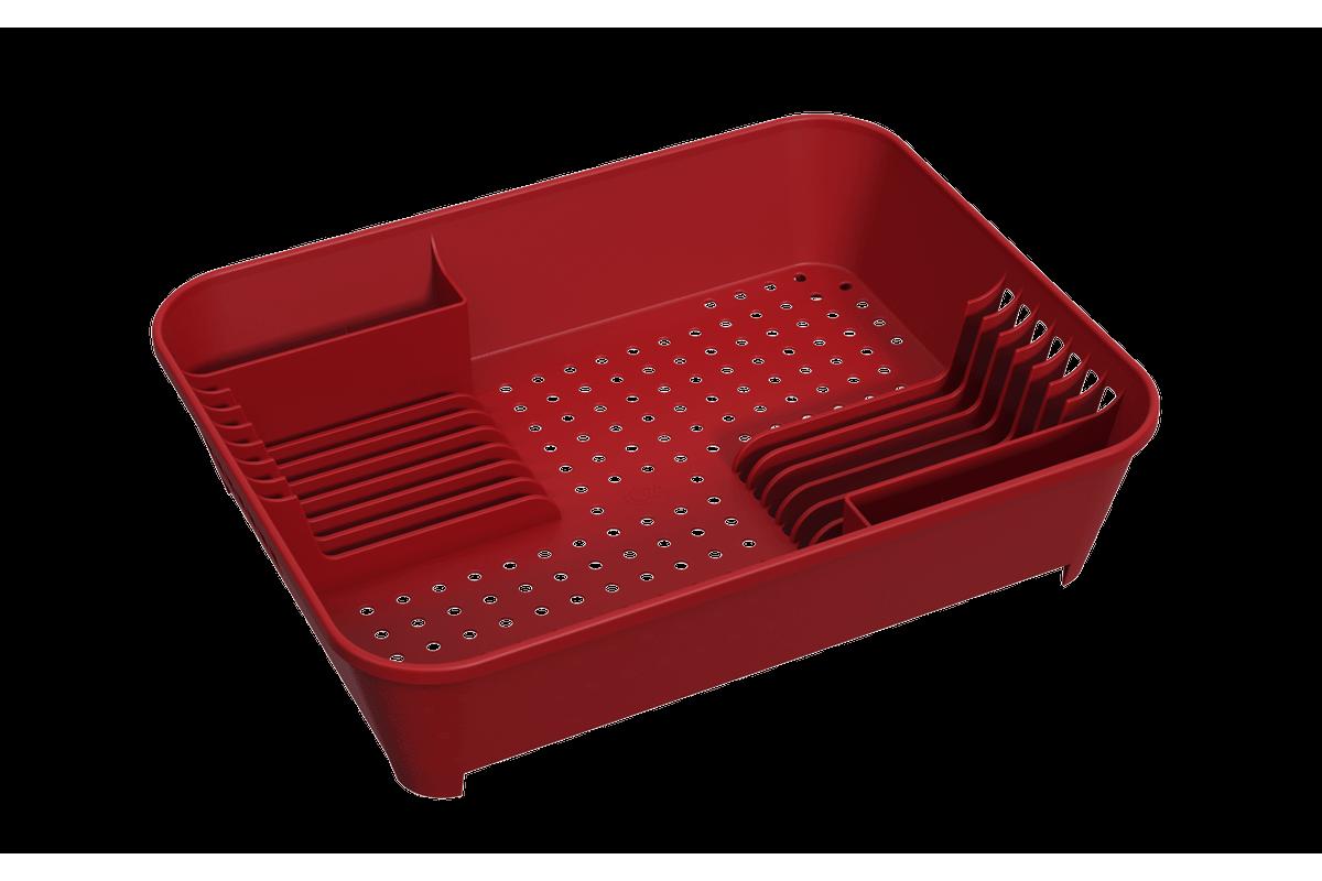 Escorredor de Louças Basic 14,5 X 35 X 10,5 Cm Vermelho Bold Coza