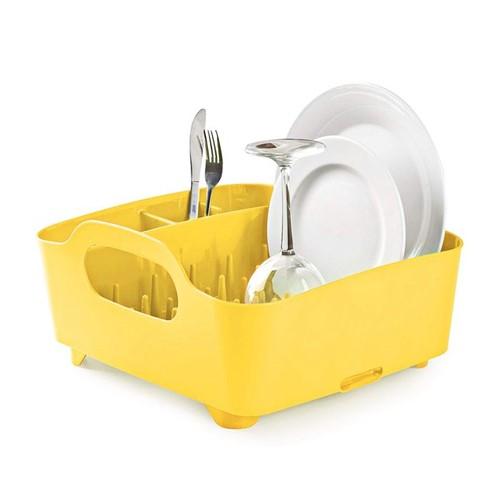 Escorredor de Louças Tub Umbra Amarelo