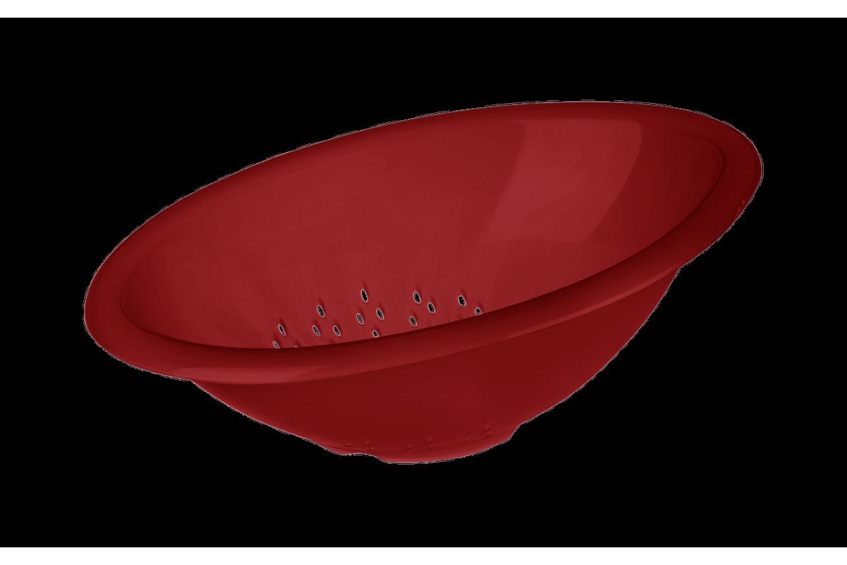 Escorredor de Massa Mix 29 X 22,5 X 11,6 Cm Vermelho Bold Coza