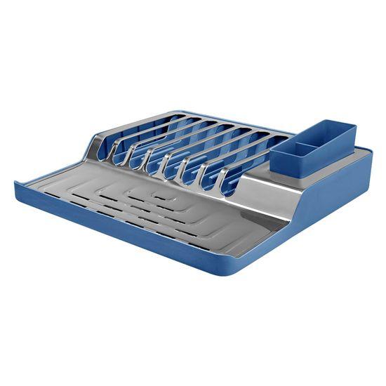 Escorredor de Pratos Minimal Azul