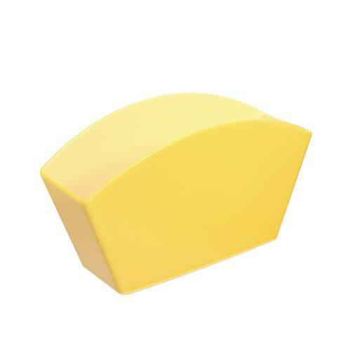 Escorredor de Talheres Basic 21,5 X 10,6 X 4,5 Cm Amarelo - Coza