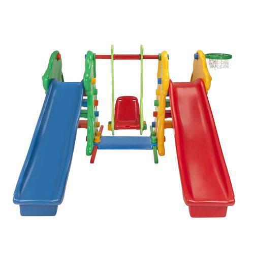 Escorregador Cachorrinho Duplo 5335 Alpha Brinquedos