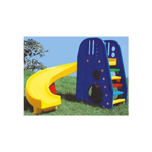 Escorregador Helix Play Azul - Alpha Brinquedos Azul