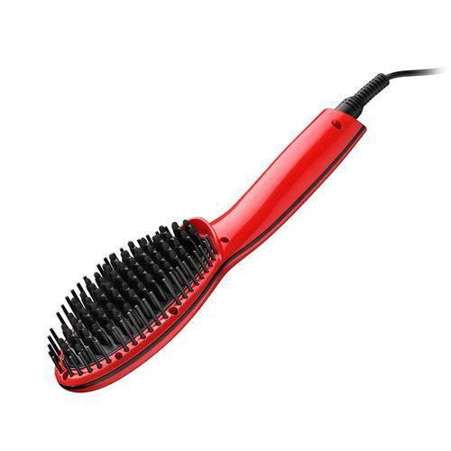Escova Alisadora Multilaser Beauty Eb10 Vermelha - Bivolt