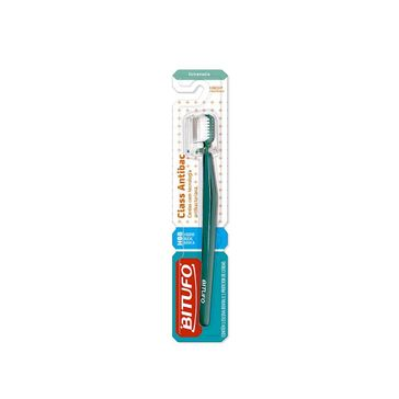 Escova Dental Bitufo Class Antibac Extra Macia