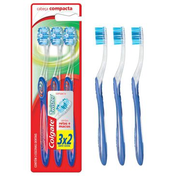 Escova de Dente Colgate Twister Macia Leve 3 Pague 2