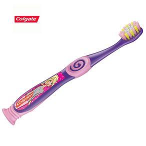 Escova de Dente Smiles da Barbie 2 a 5 Anos Colgate com 2 Unidades