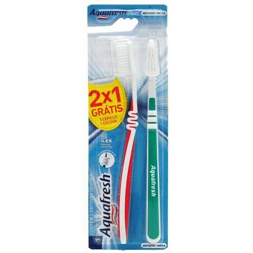 Escova Dental Aquafresh Flex Media Leve 2 Pg 1