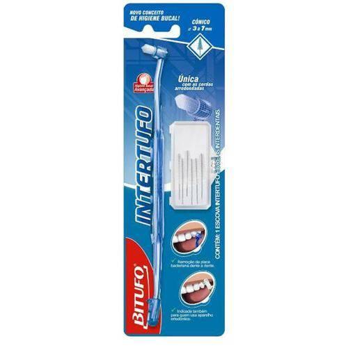 Escova Dental Bitufo Interdental Conica