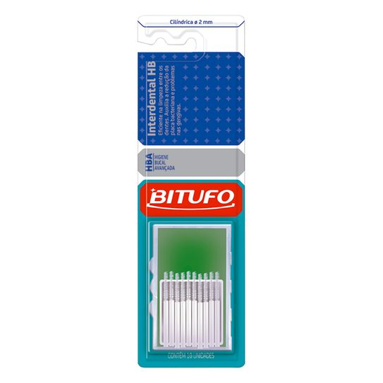 Escova Dental Bitufo Interdental Hb Ultra Fina