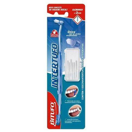 Escova Dental Bitufo Intertufo Cilindrico 3mm