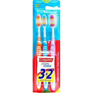 Escova Dental Colgate Extra Clean L3P2un