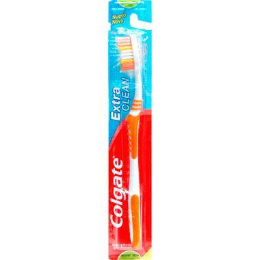 Escova Dental Colgate Extra Clean Media Cj. C/ 4 Un.