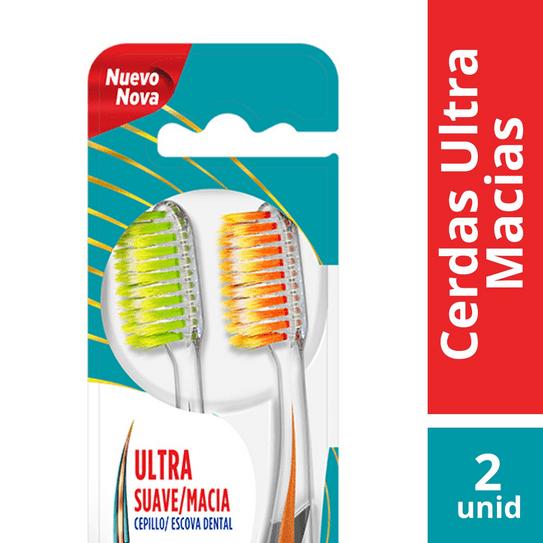 Escova Dental Colgate Slim Soft Advanced Ultra Macia com 02 Unidades