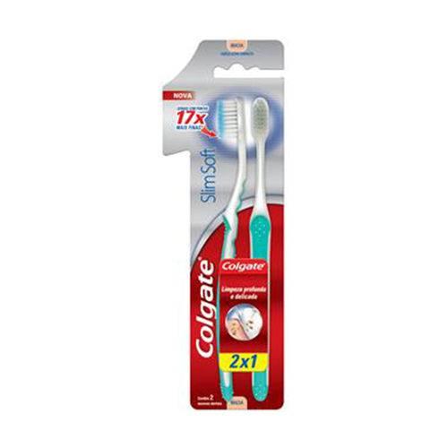 Escova Dental Colgate Slim Soft Cabeca Ultra Compacta