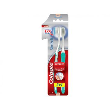 Escova Dental Colgate Slimsoft Macia Leve 2 Pague 1