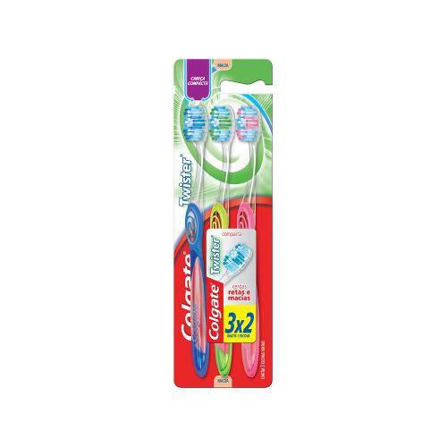Escova Dental Colgate Twister Ultra Completo Leve 3 Pague 2