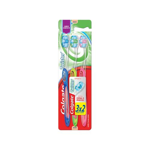 Escova Dental Colgate Twister Ultra Completo 3 Unidades