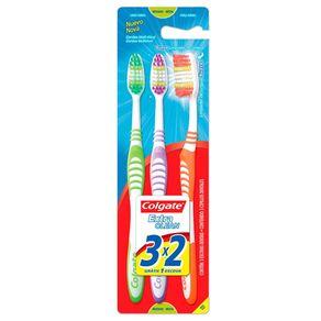 Escova Dental Extra Clean Média Colgate Leve 3 Pague 2