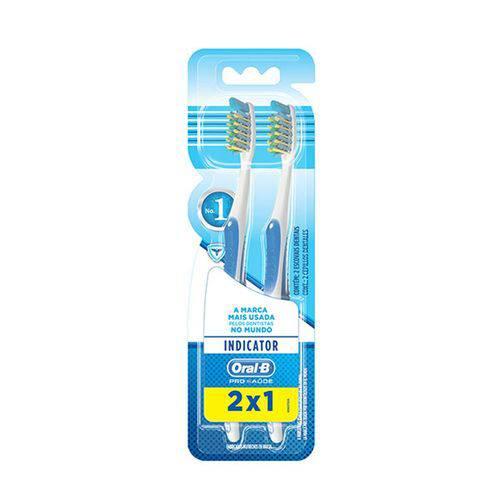 Escova Dental Indicator Plus 40 Uso Adulto Leve 2 Pague 1 - Oral-b