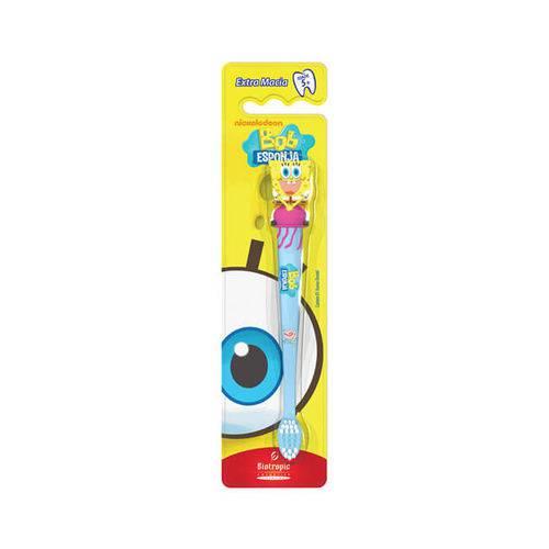 Escova Dental Infantil 3D Bob Esponja Água Viva - Biotropic