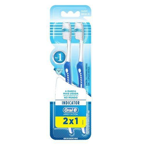 Escova Dental Oral B 3d Indicator Plus N° 35 - Leve 2 Pague 1