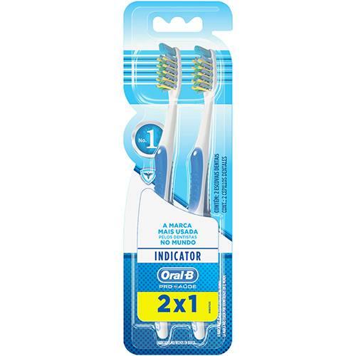 Escova Dental Oral-B Indicator Plus 40 - 2 Unidades